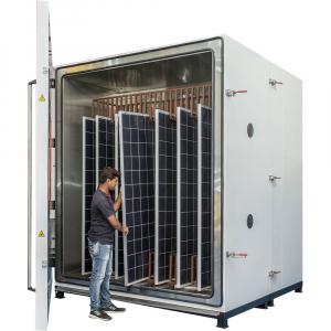 Solar Panel Testing Chamber